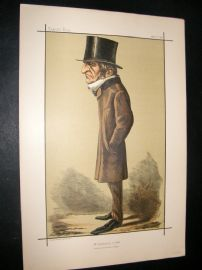 Vanity Fair Print 1898 William Gladstone, Prime Minister